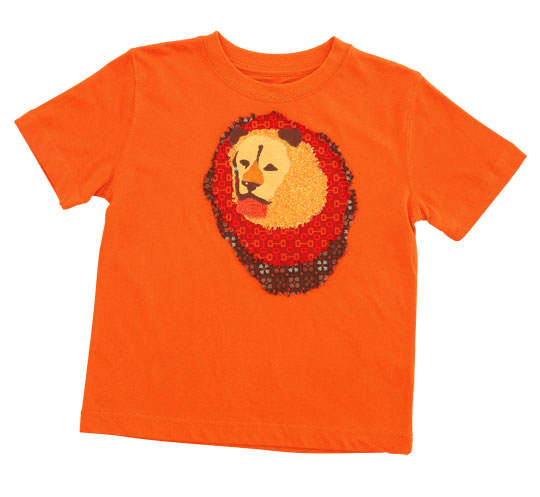 Lion Applique T-Shirt