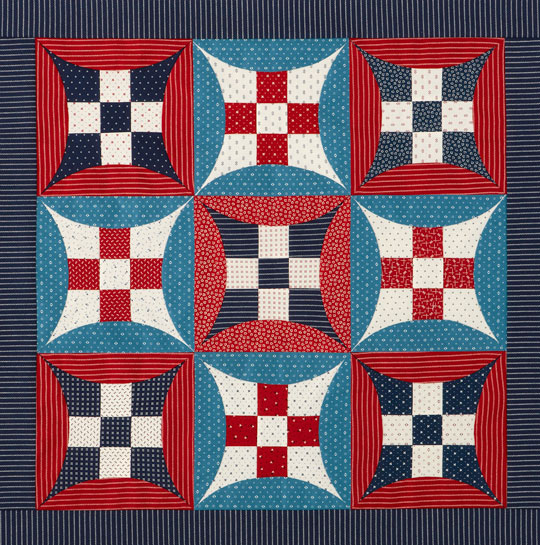 Glorified Nine-Patch Wall Hanging