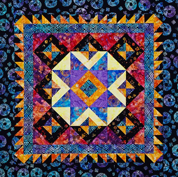 Star Bright Wall Quilt