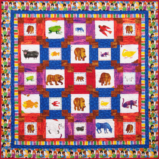 Brown Bear Quilt