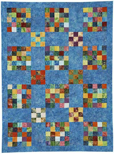 Batik Patches Quilt