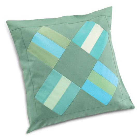 Rail Fence Pillow