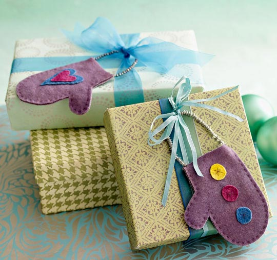 Truly Gifted Wool Ornaments