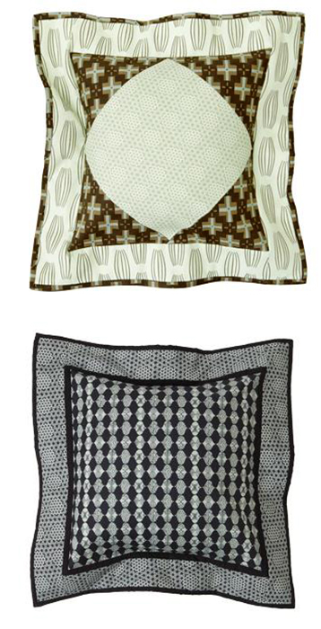 Neutral Print Pillows