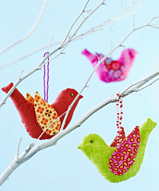 Wild Birds Ornaments
