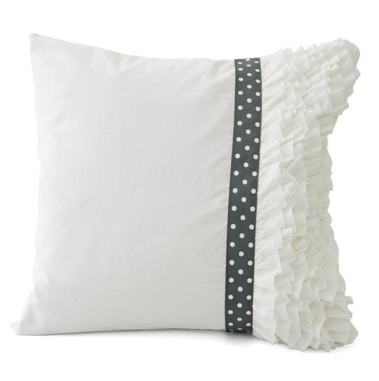 Premade Ruffle Pillow