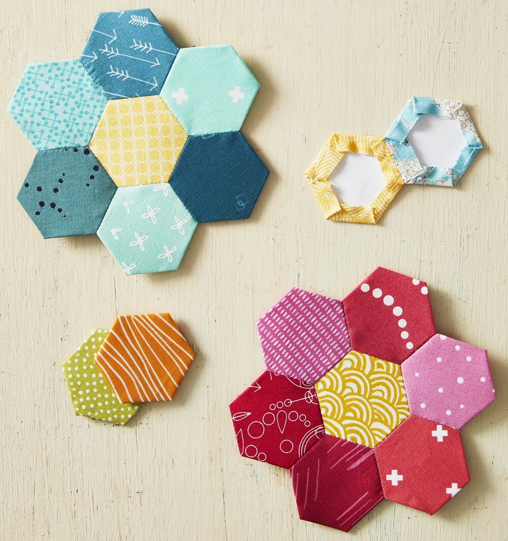 How To: English Paper Piecing | AllPeopleQuilt com