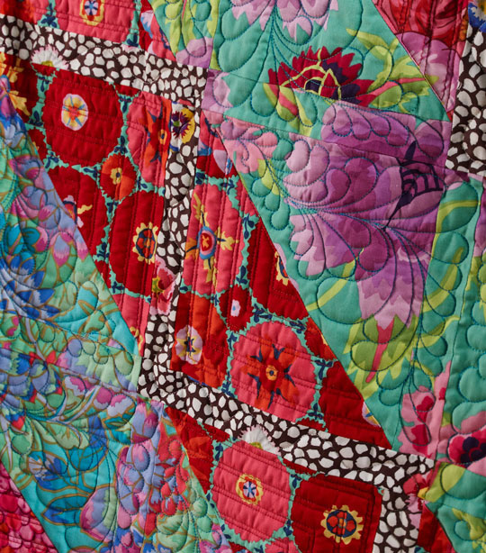Machine-Quilting Details
