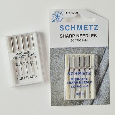 80/12 sharps machine needles