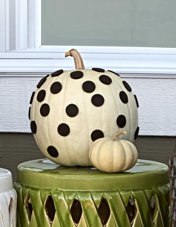 Polka Dot Pumpkin