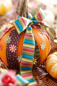 All Tied Up Pumpkin