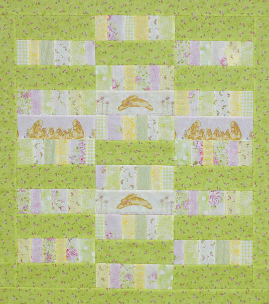 Fussy-Cut Baby Quilt