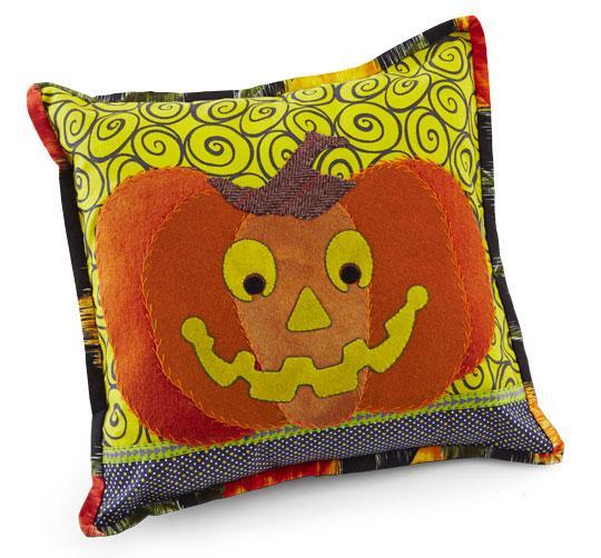 Happy Pumpkin Pillow
