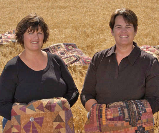 Janet Nesbitt and Pam Soliday of The Buggy Barn