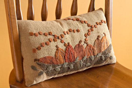 Pretty Pumpkin Pillow