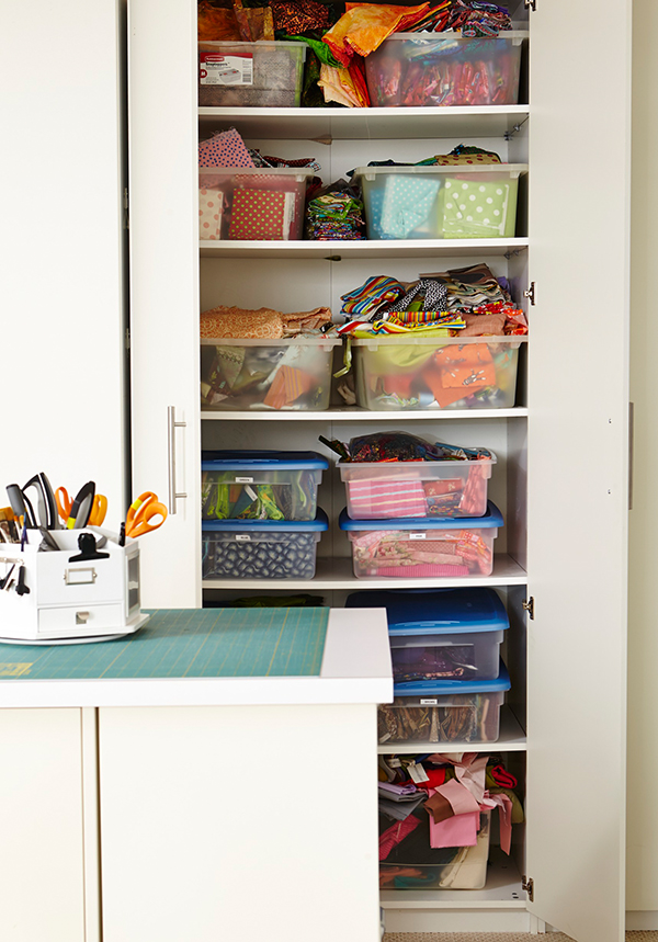 The Easiest Fabric Storage