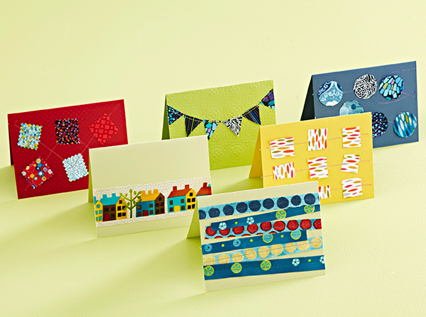 Fused Fabric Cards