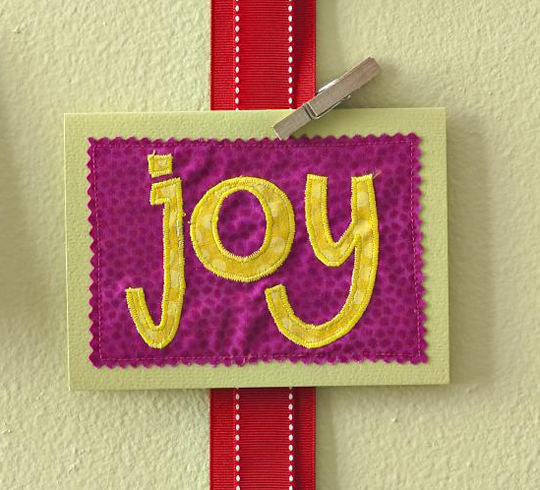 Joyful Holiday Card