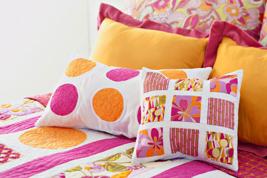 Squares & Circles Pillow