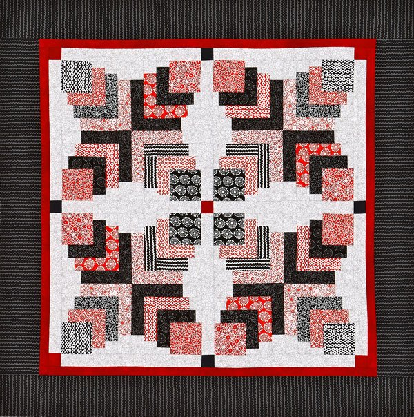 3D Squares Wall Quilt