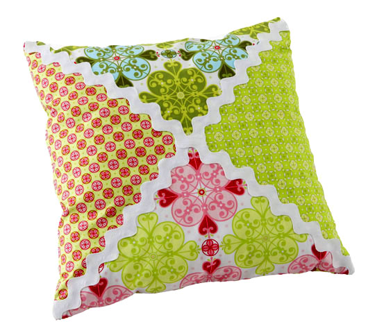 Rickrack Pillow