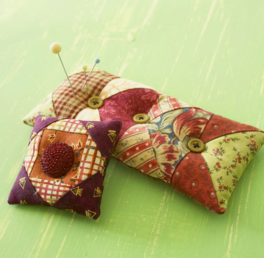 Get Scrappy Pincushions