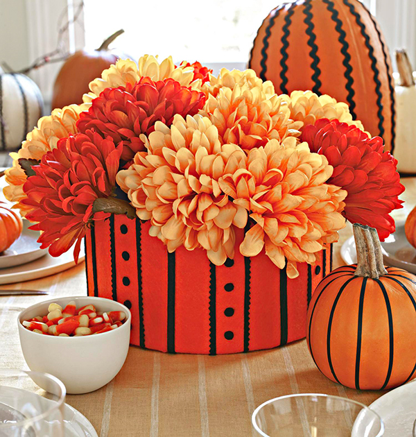 Hat Trick Fall Centerpiece