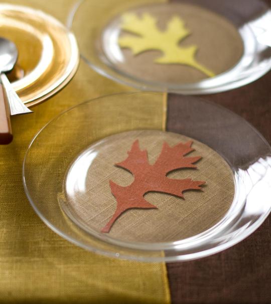 Autumn Dessert Plate