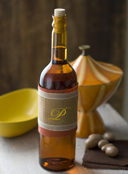 Monogram Wine Bottle