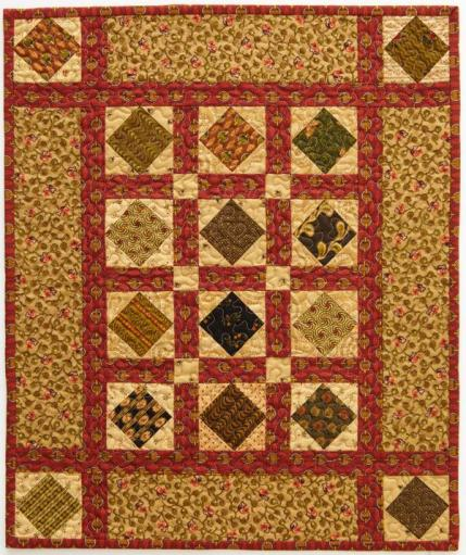 Green Acres Doll Quilt
