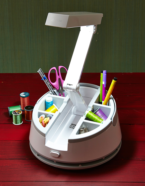 Craft Caddy Lamp