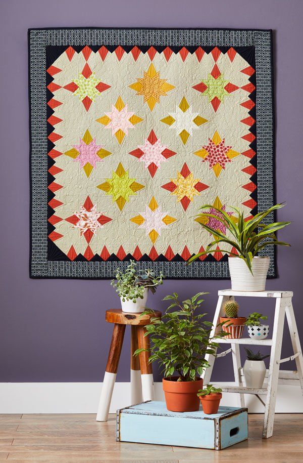 Star Block Wall Quilts