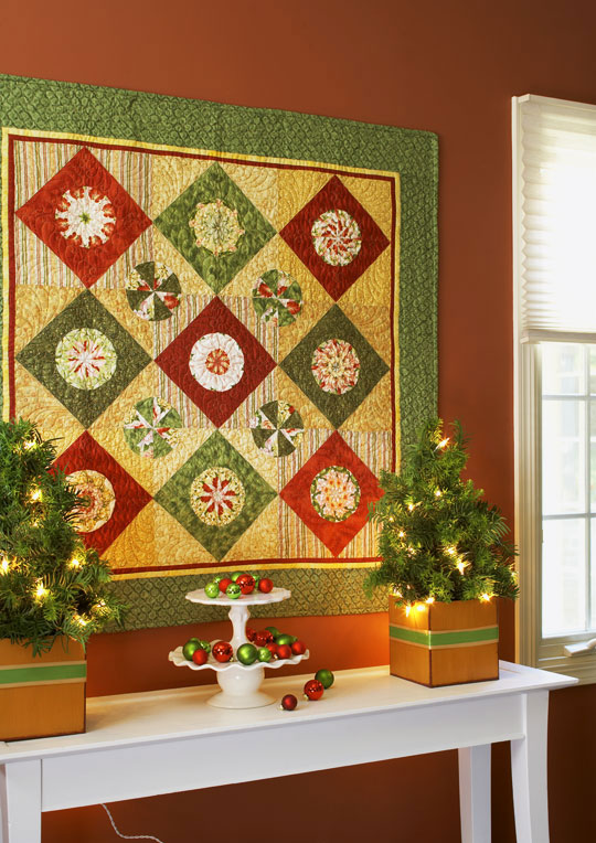 Color Options from American Patchwork & Quilting® December 2008