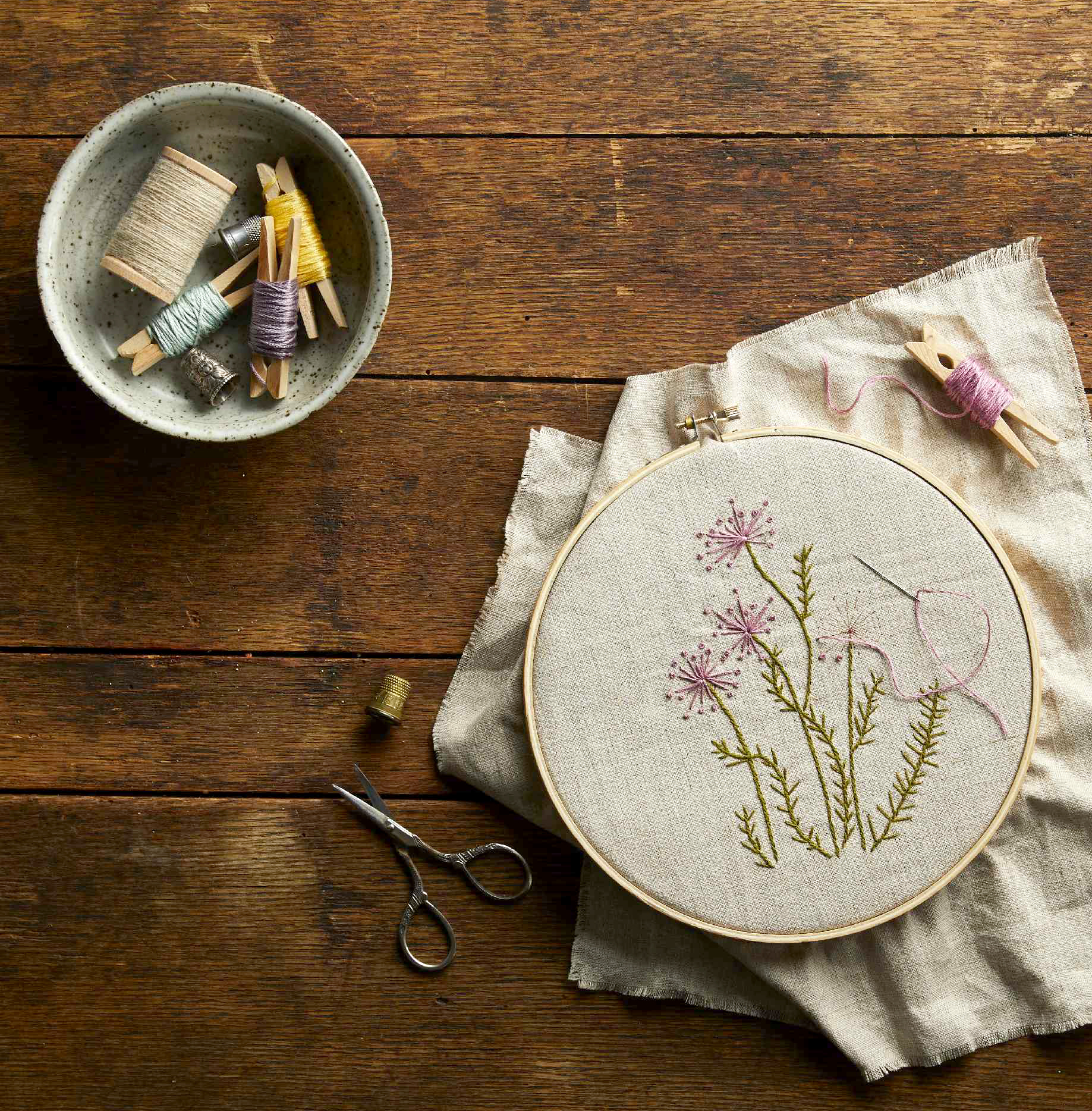 handwork happiness embroidery