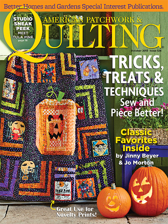 American Patchwork & Quilting October 2013
