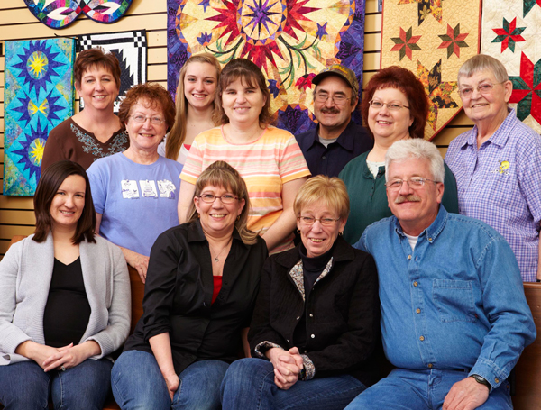 Meet the Staff at Quilting on the Square