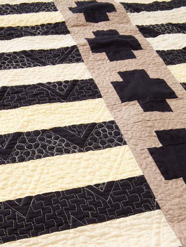 On the Straight and Narrow Machine-Quilting Details