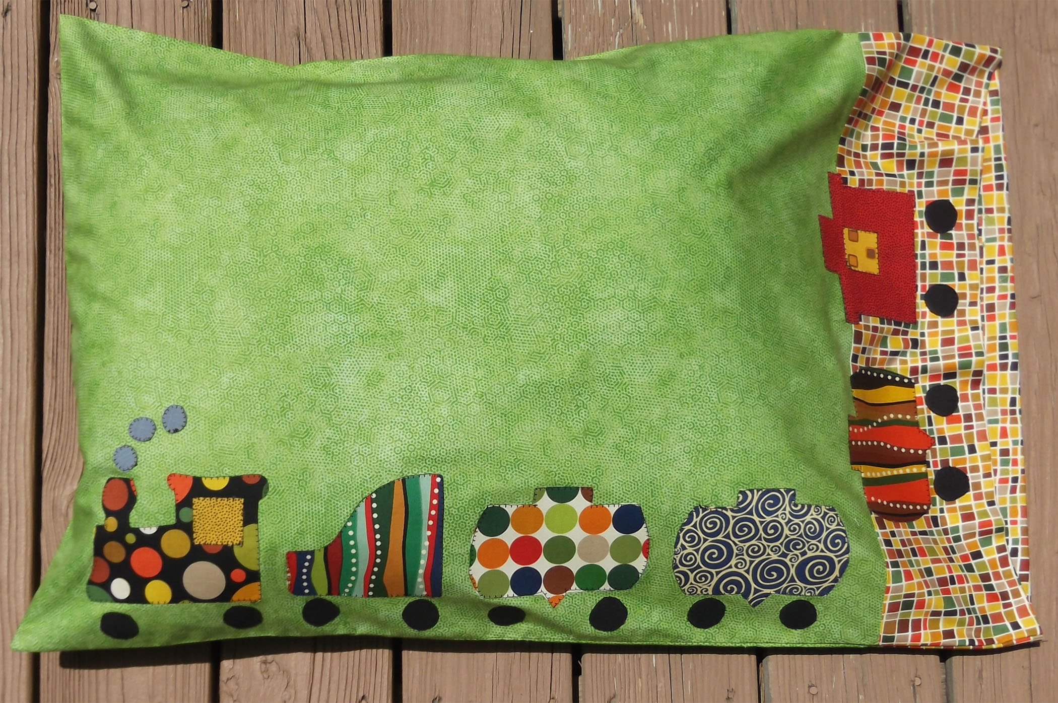 Andover Fabrics' Pillowcase