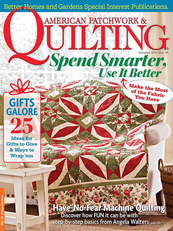 American Patchwork & Quilting December 2013