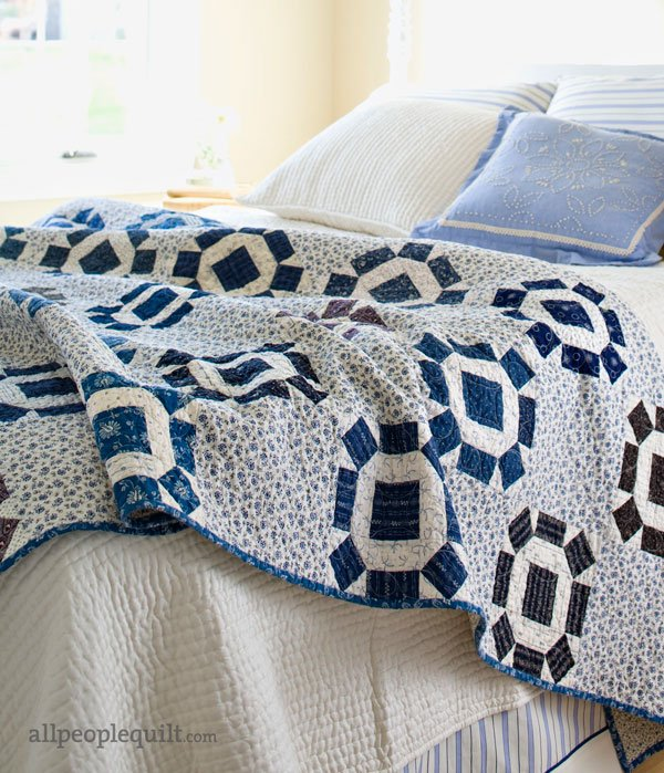 Quilting Color Trend: Blue