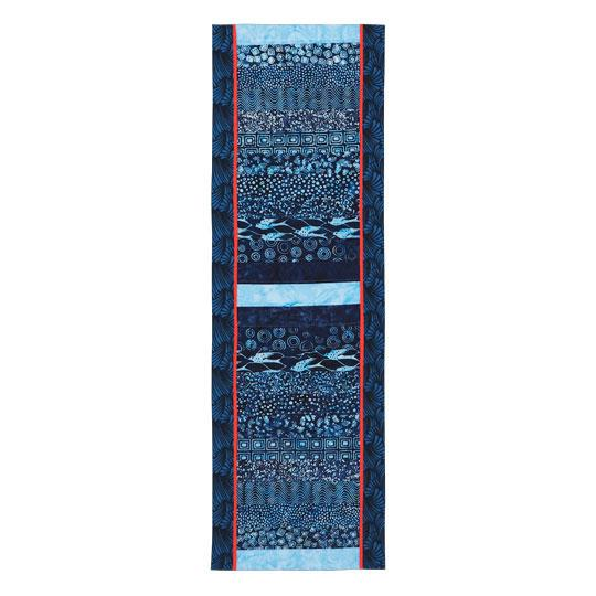 Batik Strips Table Runner