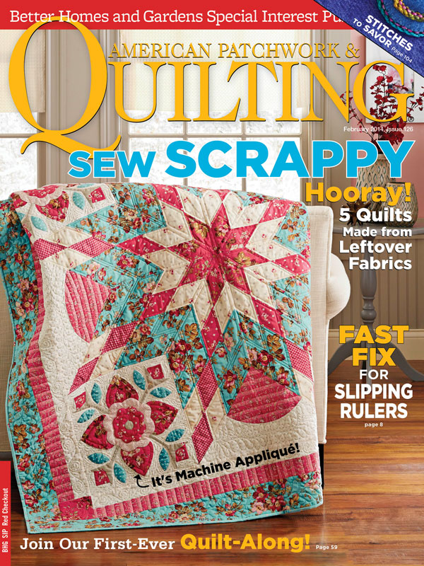 American Patchwork & Quilting February 2014