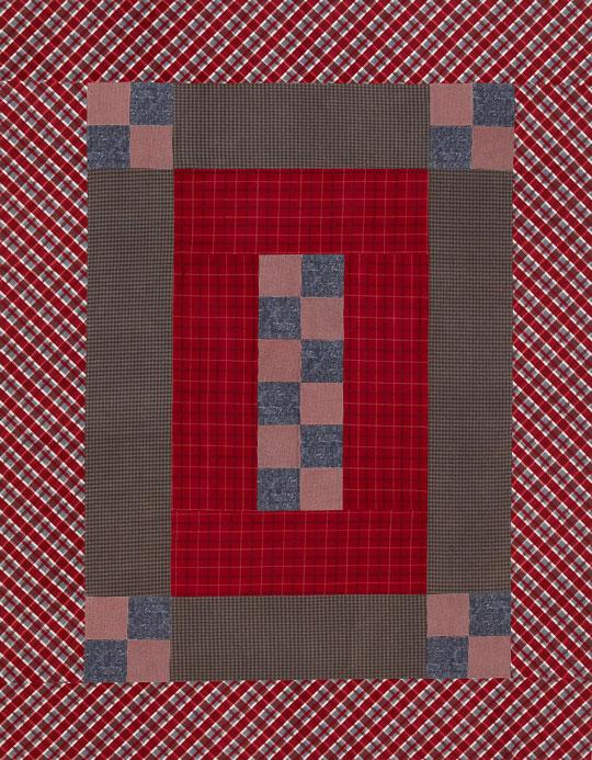 Patchwork Flannel Bed Quilt