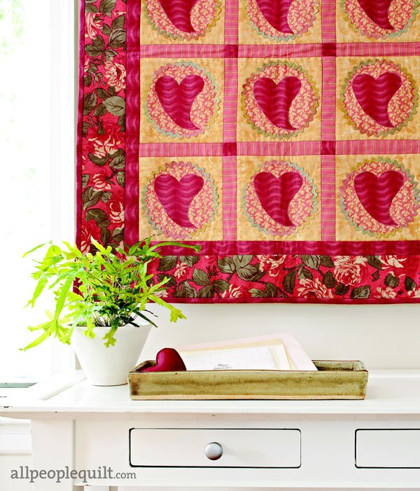 Heartfelt Valentine's Day Sewing Projects