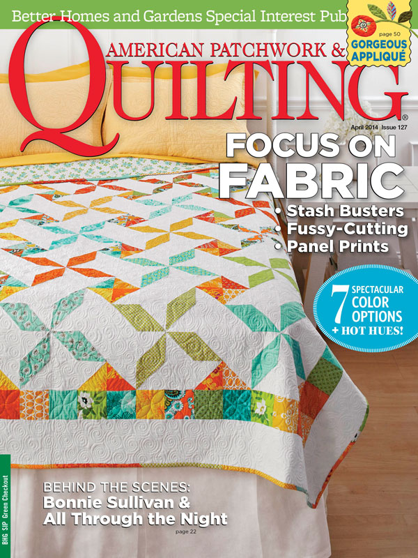 American Patchwork & Quilting April 2014