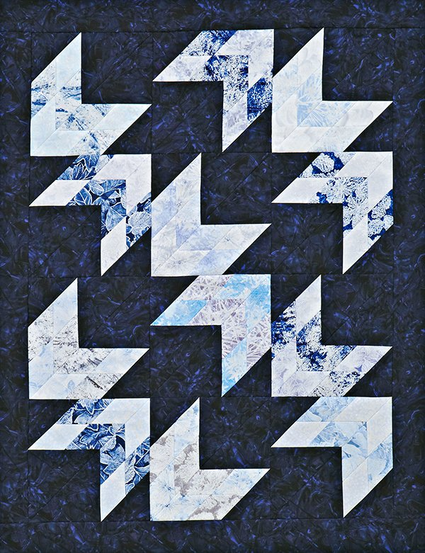 Icy Path Quilt
