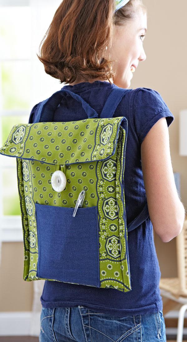 Ready, Set, Sew! Backpack