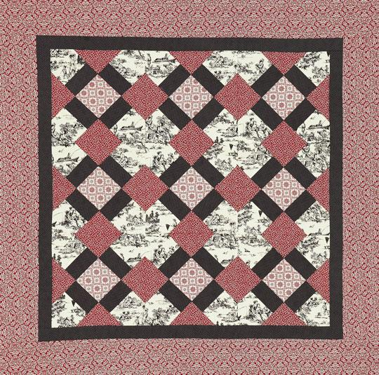 Pastoral Countryside Wall Quilt