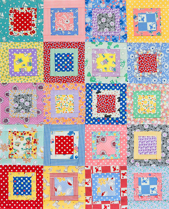 Scrappy Charm Squares