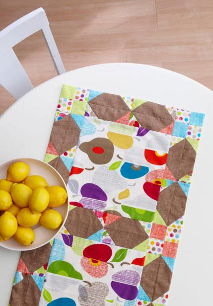 Big Block Table Runner